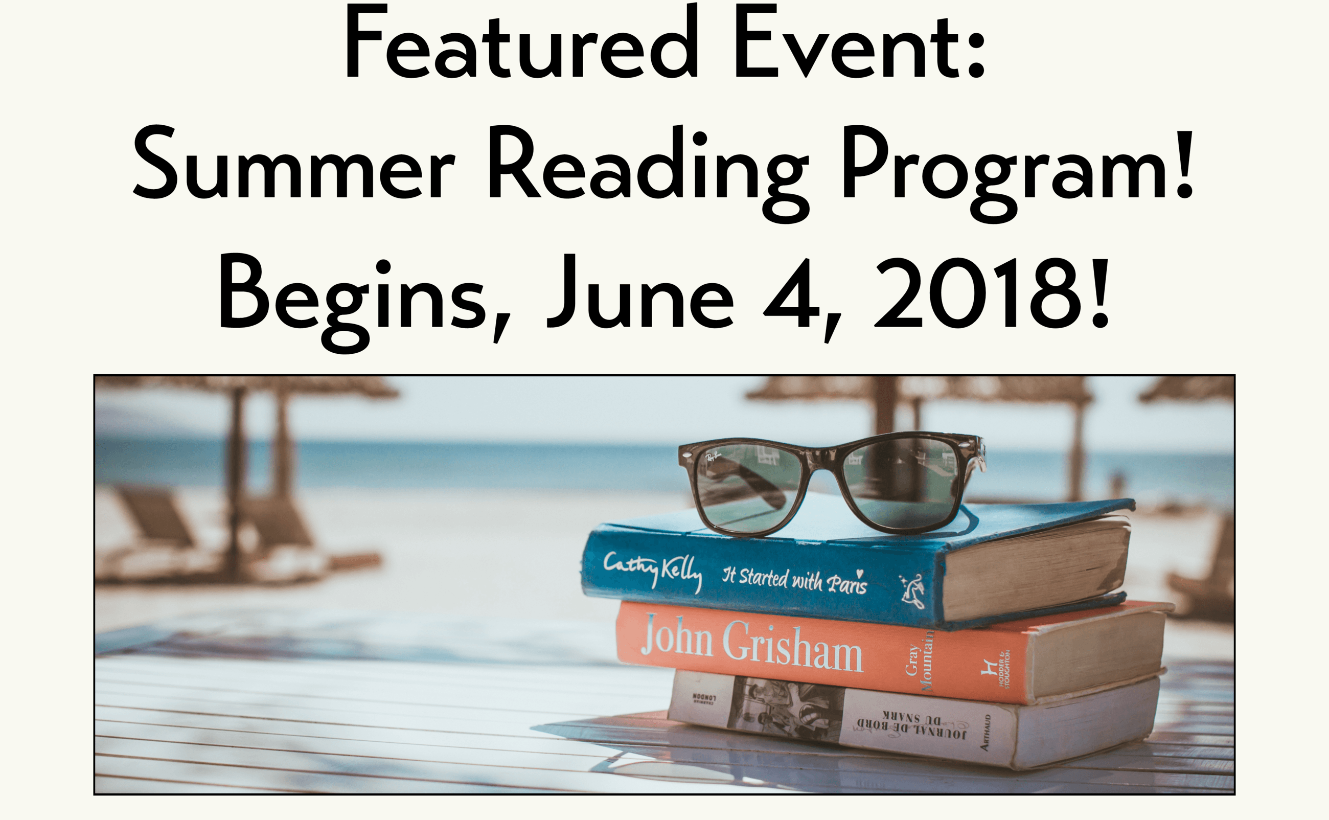 Featured Event Summer Reading