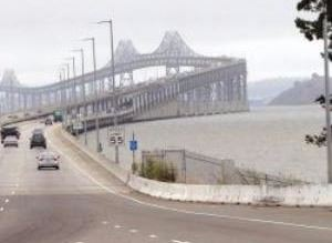 East Sir Francis Drake approach to Richmond-San Rafael Bridge