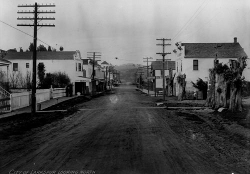 Downtown Larkspur - 1910
