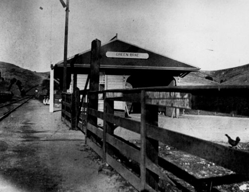 Greenbrae Train Station - 1906